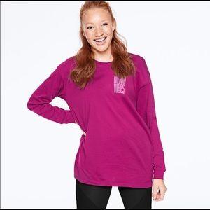 NEW Victoria Secret PINK Long Sleeve T-shirt